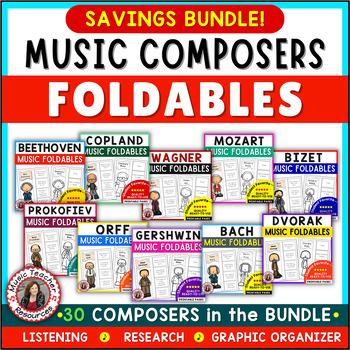 MEGA BUNDLE of COMPOSER Foldables