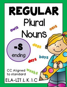 Regular Irregular Plural Nouns BUNDLE