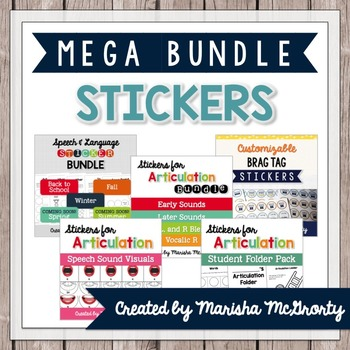 MEGA Interactive Sticker Bundle
