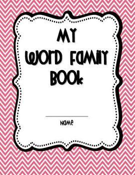 MEGA Word Family Book NO-PREP!