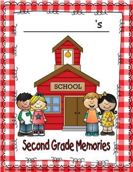 MEMORY OR SCRAPBOOK FOR SECOND GRADE