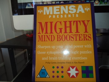 MENSA PRESENS MIGHTY MIND BOOSTERS
