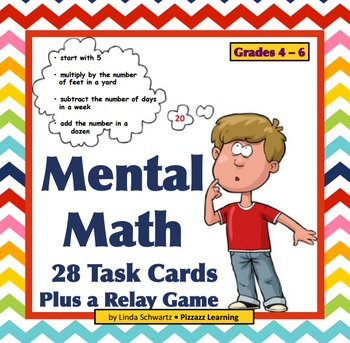 MENTAL MATH REVIEW  Grade 5