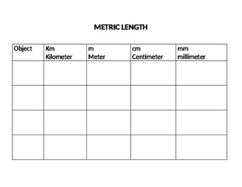 METRIC MEASURING CENTER