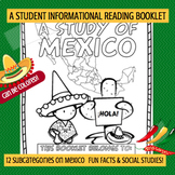 MEXICO - A Study of Mexico – A 16 Page Student Information