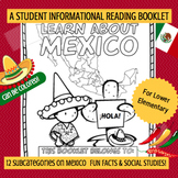 MEXICO - Learn About Mexico – A 16 Page Student Informatio