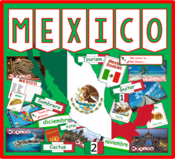 MEXICO / SPANISH LANGUAGE MULTICULTURE DIVERSITY DISPLAY G