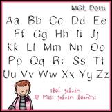 MGL Free Font - Dotti