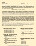 SPANISH: MI RUTINA DIARIA - INTERPRETIVE READING COMPREHENSION