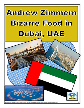 MIDDLE SCHOOL - Bizarre Foods in Dubai, UAE AND FREE MAP A