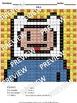 MINI COLORING BOOK- Pixel Art- Addition Worksheets- Spanish