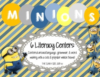 MINIONS! Literacy Centers