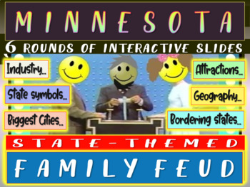 MINNESOTA FAMILY FEUD! Engaging game about cities, geograp