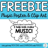 "Freebie: Music MIOSM Poster ""WHAT'S YOUR SUPER POWER?"" I h"