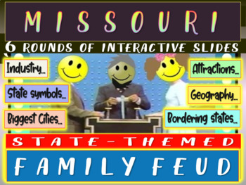 MISSOURI FAMILY FEUD! Engaging game about cities, geograph