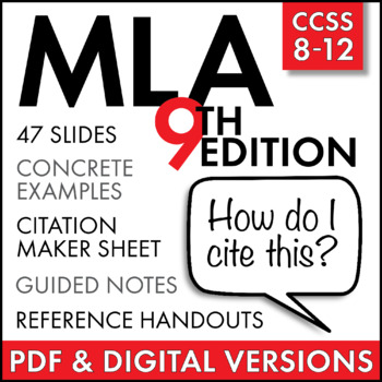 Mla Citation Lecture Handouts Mla 8th Edition In Text