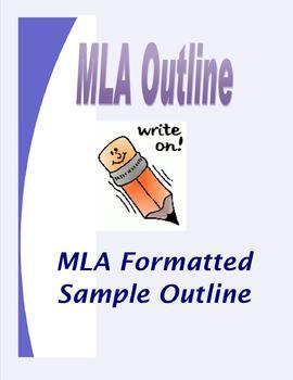 MLA Format Outline/Template for Essays