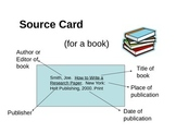 MLA Format Research Paper: Source Card Instructions (MLA 7th ed.)