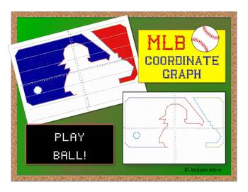 MLB Symbol Coordinate Graph