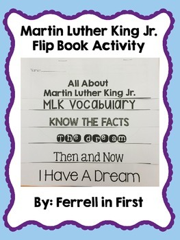 MLK Flip Book Freebie