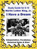 Martin Luther King Jr. I Have a Dream Speech Close Reading