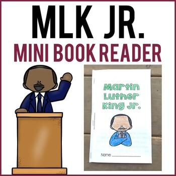 MLK Jr. Mini-Book Reader