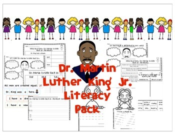 MLK Jr. literacy pack