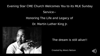 MLK PowerPoint (Set To Music)