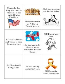 MLK True or False Flashcards