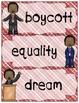 MLK Vocabulary Cards