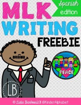 MLK writing paper: Spanish