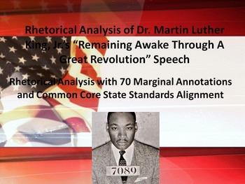 "MLK's ""Remaining Awake Through a Great Revolution"" Speech"