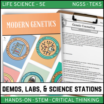 MODERN GENETICS - Demo, Labs and Science Stations