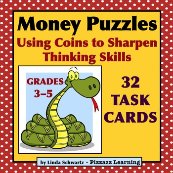MONEY PUZZLES TASK CARDS