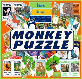 MONKEY PUZZLE STORY RESOURCES LITERACY READING EYFS KS 1-2