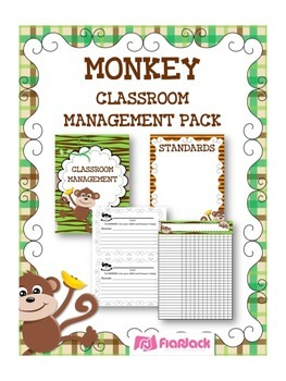 MONKEY Themed Classroom Management Pack