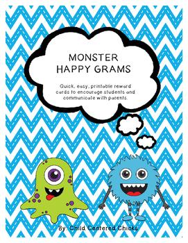 MONSTER HAPPY GRAMS