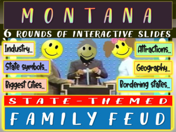 MONTANA FAMILY FEUD! Engaging game about cities, geography
