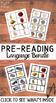 30+ Pages MONTESSORI Language Pre-Reading Materials