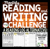 MONTHLY READING AND WRITING CHALLENGE