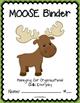 MOOSE Binder {Student Organization Folder}