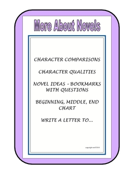 MORE ABOUT NOVELS