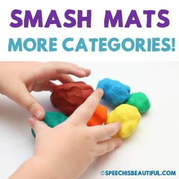 MORE Vocabulary Smash Mats - NO PREP + Sorts & Coloring