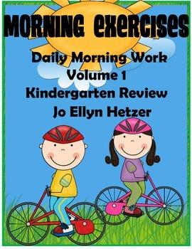 MORNING EXERCISES - Kindergarten Review {VOLUME 1}