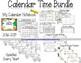 MORNING WORK Calendar Time Worksheets - April - Common Core