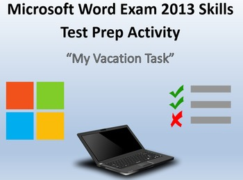 MOS Microsoft Word 2013 Certification Exam Review 4