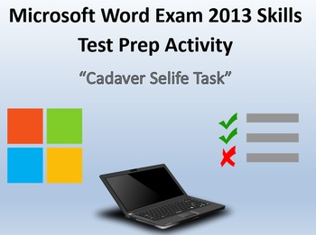 MOS Microsoft Word 2013 Certification Exam Review 6