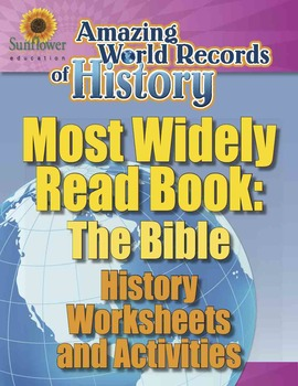 MOST WIDELY READ BOOK: THE BIBLE—History Worksheets and Ac