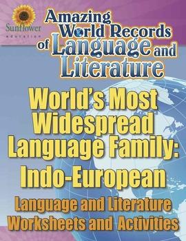 MOST WIDESPREAD LANGUAGE FAMILY: INDO-EUROPEAN—Language Wo