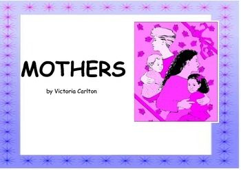 MOTHERS' DAY BOOK AND LEARNING ACTIVITIES